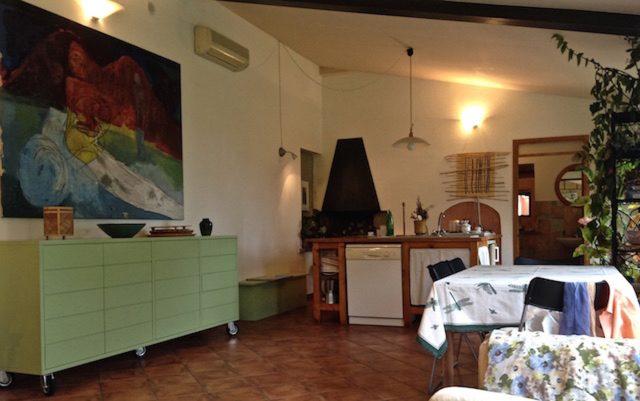 Studio-loft avec îlot de cuisine à Podere Porcino