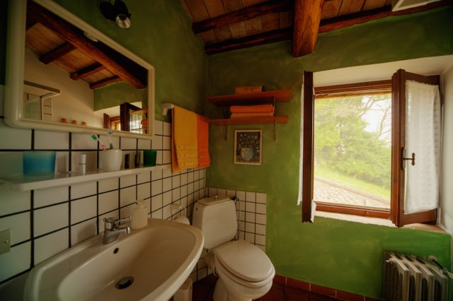 Salle de bain de la Casa Desiderio