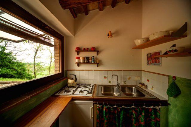Küche in Casa Desiderio