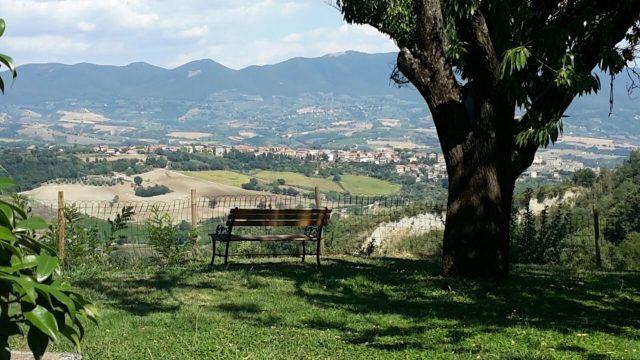 Panchina con vista su Castiglione