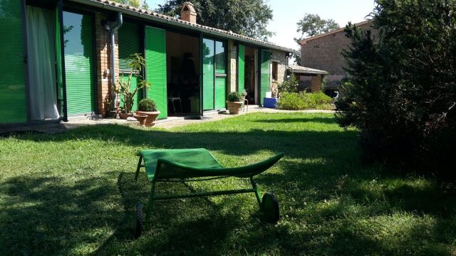 Loft Studio con sdraio verde