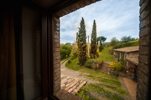 View from Casa Desiderio on the Studio apartment